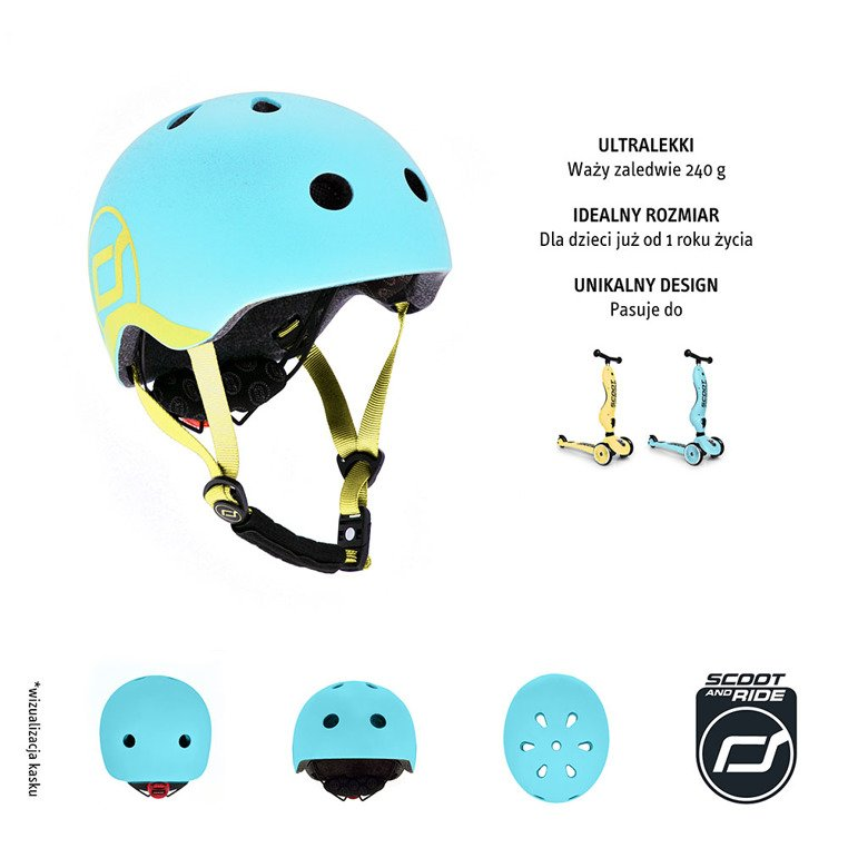 Kask XXS-S Blueberry