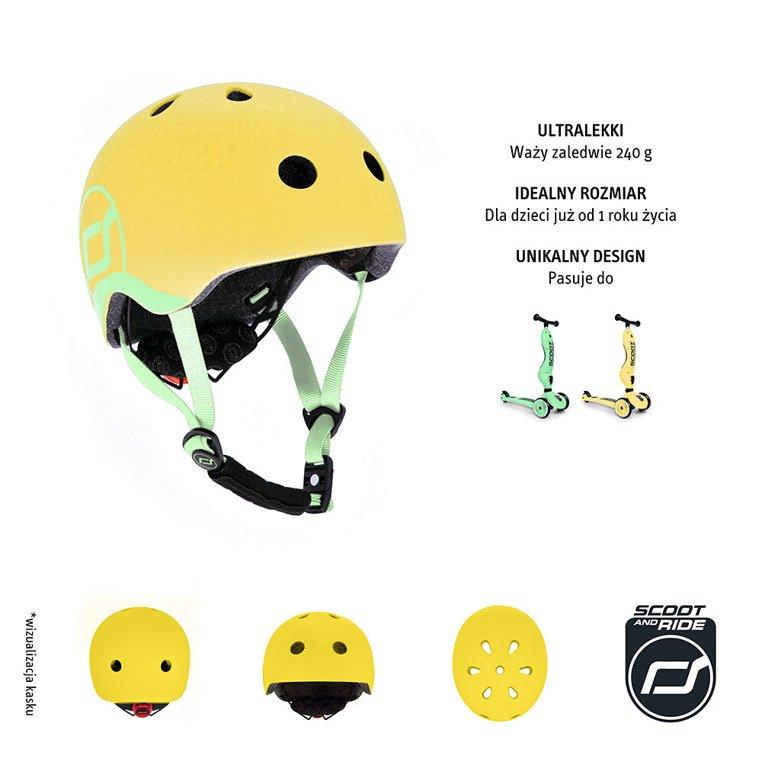 Kask XXS-S Lemon
