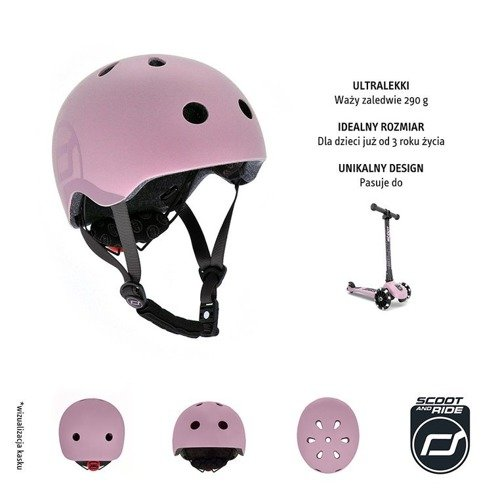 Kask S-M Rose