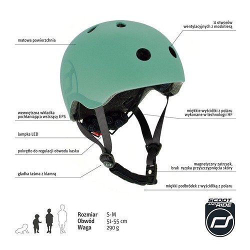 Kask S-M Forest